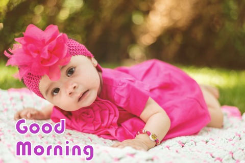 good morning baby images hd free downlo