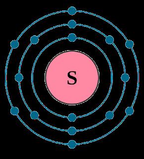 সালফারের ইলেকট্রন বিন্যাস মডেল