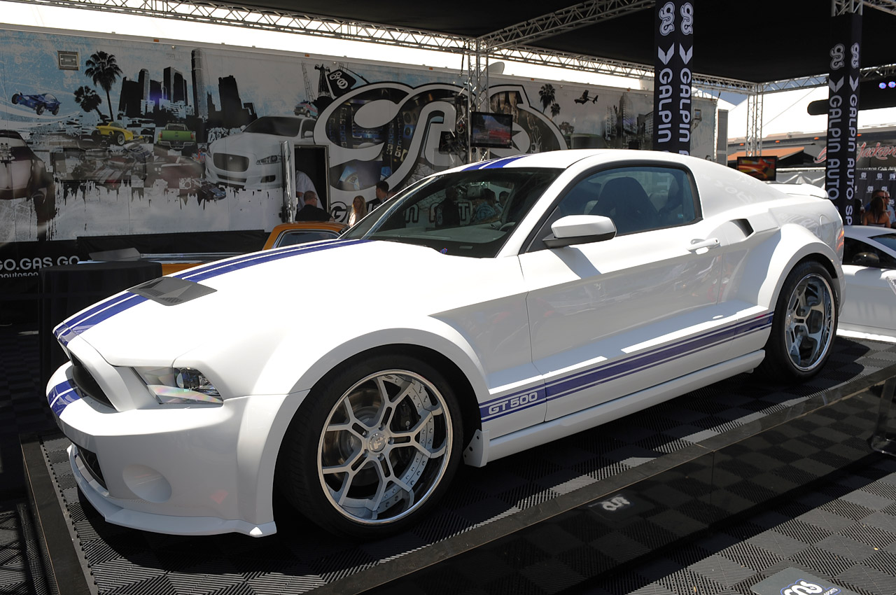 Galpin Ford Parts >> Galpin Auto Sports Shows off new Wide-bodied Shelby GT500 at Barrett-Jackson ~ Doing Donuts With ...