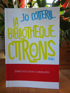 La bibliothèque des citrons Jo Cotterill