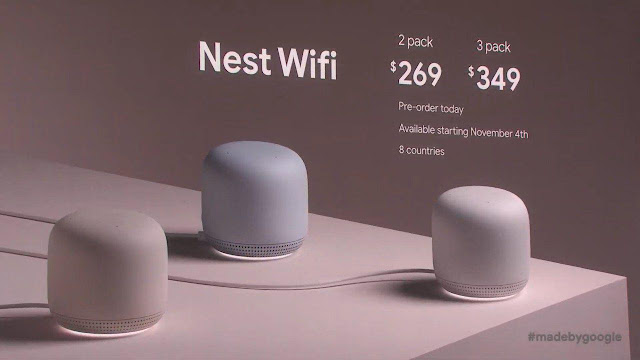 Google Nest WiFi: Prices and Release Date