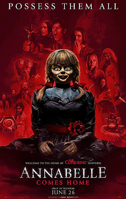 Sinopsis Film Horror Annabelle Comes Home (2019)