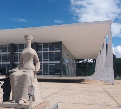 Foto da estátua da Justiça. Impunidade gera criminalidade alta