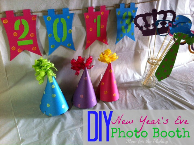 Diy New Years Eve Photo Booth Mine For The Making