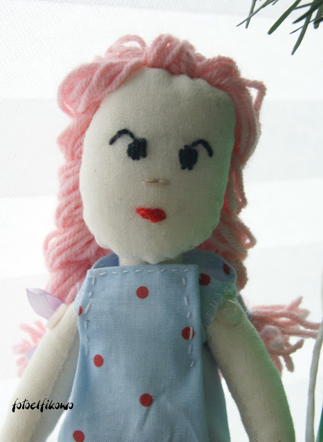Różowa lala