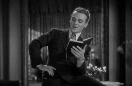 James Cagney in Blonde Crazy from 1931