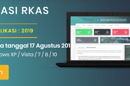 Download Aplikasi RKAS V.1.22