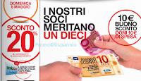 Logo Spendi & Riprendi Ipercoop: 10 euro in buoni sconto per ogni 10 euro spesi