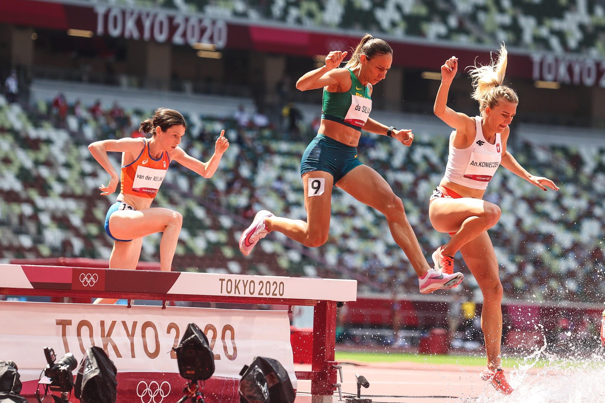 Atletismo Brasil Olimpíadas 3.000m com obstáculos
