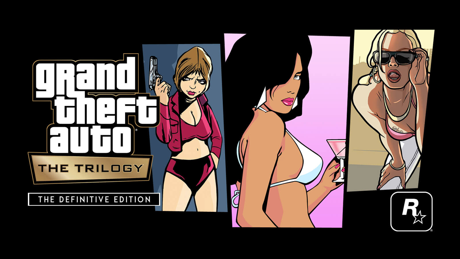 Grand Theft Auto: The Trilogy – The Definitive Edition Announced