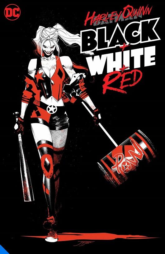 Cover of Harley Quinn: Black, White & Red Tp