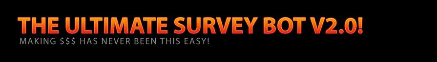 Coby 2 0 - Ultimate Survey Bot: Coby 2 0 - Automated Survey