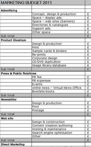 simple budget tool - Selol-ink