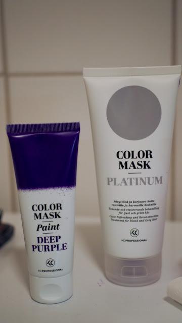 pastelhair lavenderhair hairstyle 2016 hiukset pastellihiukset KC Professional Color mask
