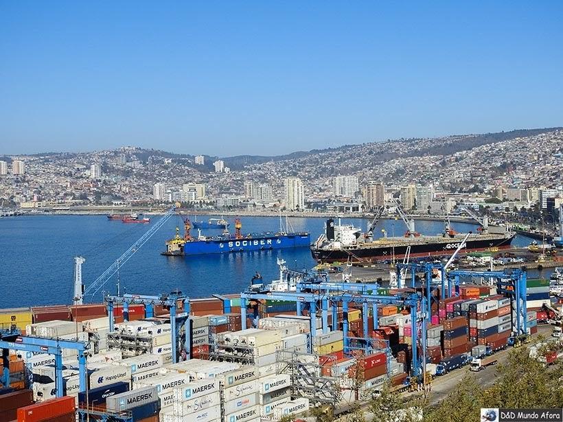 Porto de Valparaíso - Diário de Bordo Chile: 8 dias em Santiago e arredores