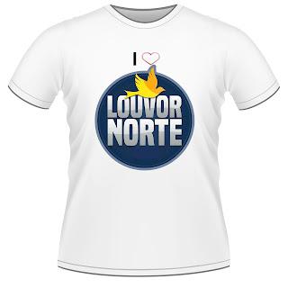 Camisas Louvor Norte Personalizadas