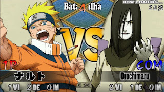 SAIU!! NARUTO HEROES 2 MOD PARA ANDROID PPSSPP +DOWNLOAD