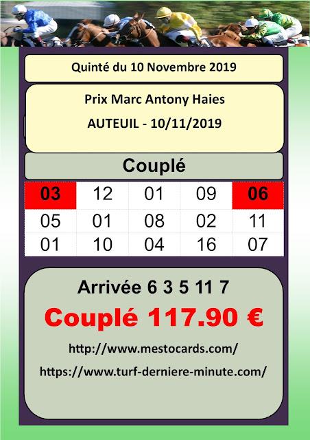 Couplé Finale Du Grand National Du Trot Paris Turf Prix