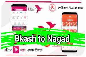 Bkash to Nagad (বিকাশ টু নগদ) Taka Transfer
