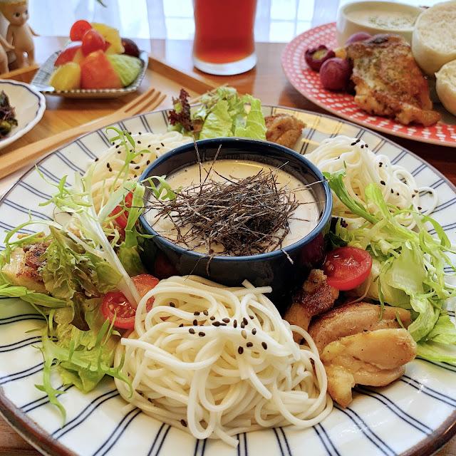 台南美食【豆弄.手作】昭和冷麵沙拉