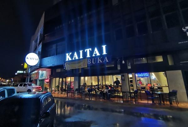Tempat makan Salmon Grilled Sedap di Kaitai Garage & Coffee di Kota Bharu Kelantan