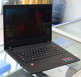Jual Laptop Lenovo 110-14AST ( AMD A9-9400 ) Malang