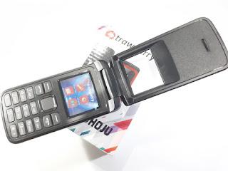 Hape Murah Strawberry Shoju ST808 Flip Phone New Dual SIM