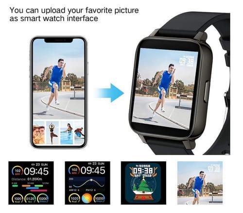 MuGo 1.69 inch Fitness Tracker Smartwatch