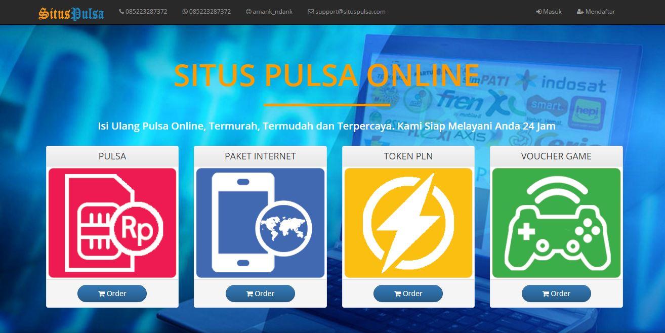 Membeli Pulsa Online Menggunakan PayPal Unverified Lebih Mudah di SitusPulsa.com
