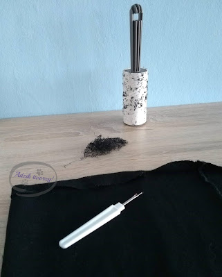 Przedłużanie sukienki DIY u dołu - Adzik tworzy