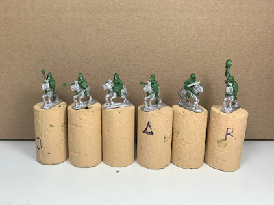 Mounted Squires & Dark Elf Cavalry picture 1