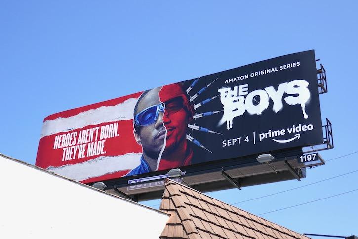 Boys season 2 ATrain billboard