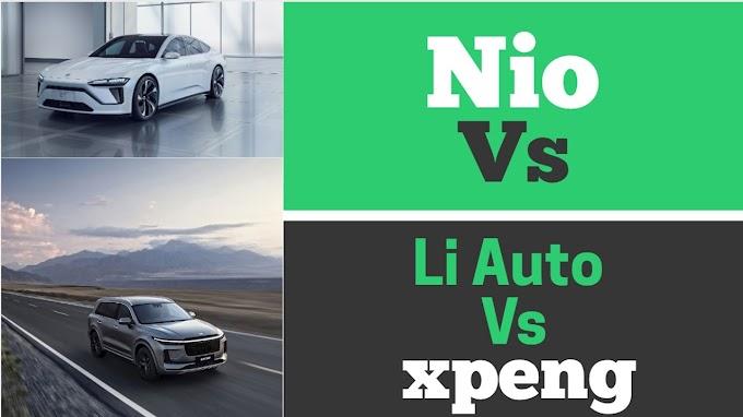 El viaje loco de NIO, Li Auto y XPeng Stock
