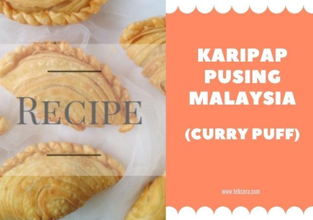 Resep Kulit Karipap (curry puff) Malaysia Renyah - dengan Gambar Step by Step