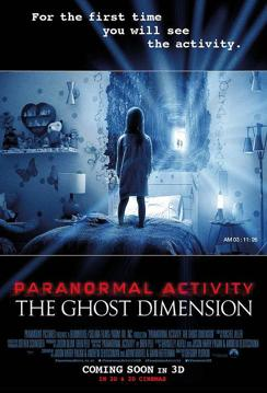 Actividad Paranormal: La Dimension Fantasma en Español Latino