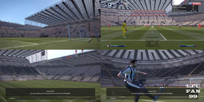 Pes 2016 St. James Park Stadium By LFCFAN99