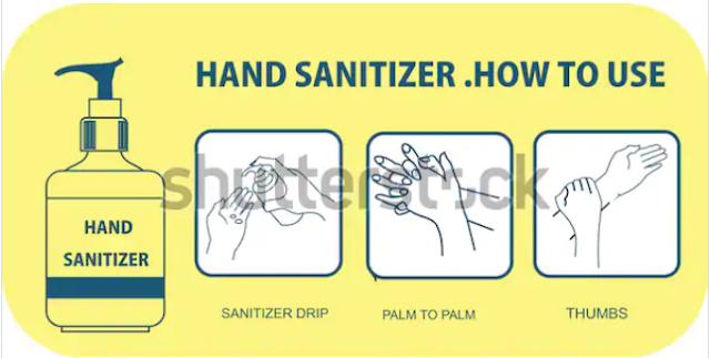 illustration inspiration hand sanitizer