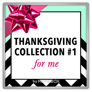 Memebox Thanksgiving Box Collection #1 For Me 미미박스 Commercial