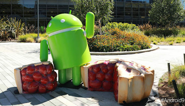 Android 9 Pie, la novena versión de Android para Smartphone.