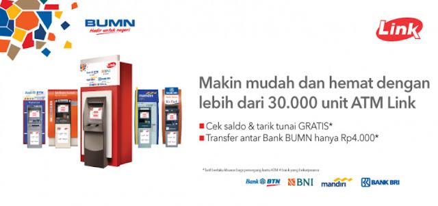 Tak Sama Dengan Semangat Awal, Transaksi Di ATM Link Kini Berbayar
