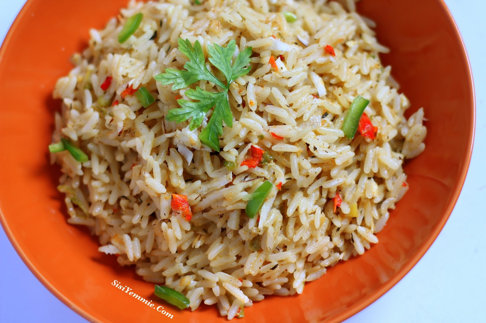 Nigerian coconut rice recipe sisiyemmie nigerian food lifestyle nigerian coconut rice recipe forumfinder