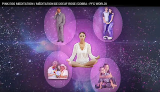 Rózsaszín Tojás védelmi meditáció