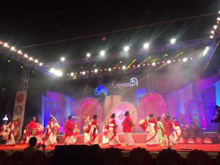 Vodafone hosted 17th edition of Aaagomoni on Mahalaya eve at Kolkata live event rainingdeal.in