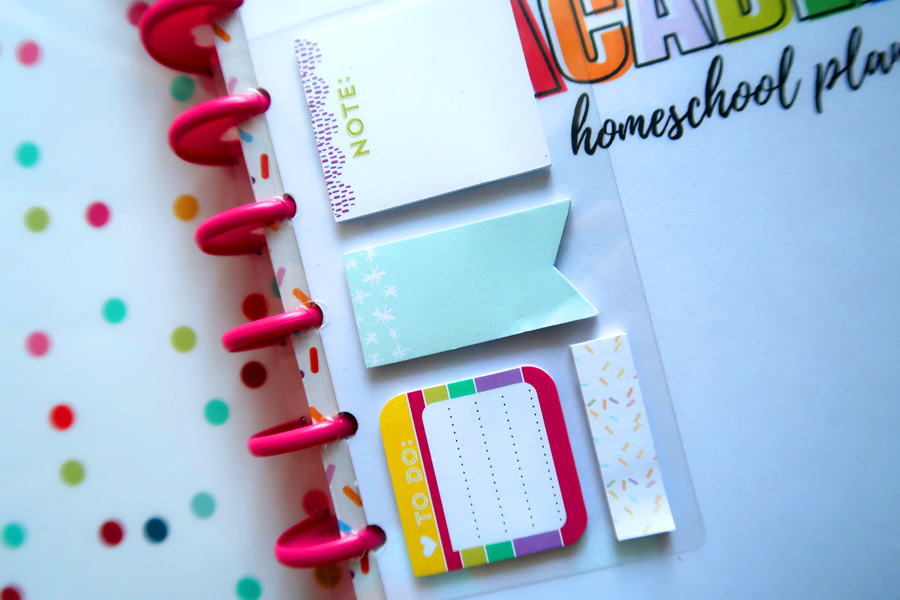 the happy planner homeschool planner