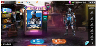 Arctic Blue Free Fire, Bundle Arctic Blue FF dari Diamond Royale Free fire