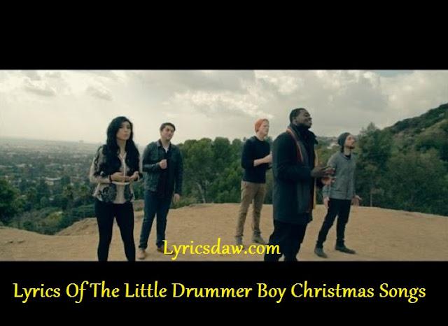 Lyrics Of The Little Drummer Boy Christmas Songs | A New Age Christmas