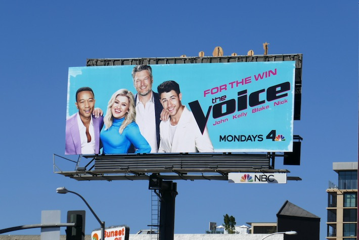 Voice season 18 billboard
