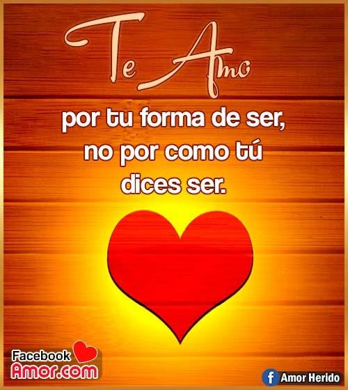 te amo corazón amor