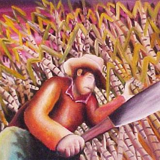 Tela- Trabalhador Rural - CORTADOR DE CANA