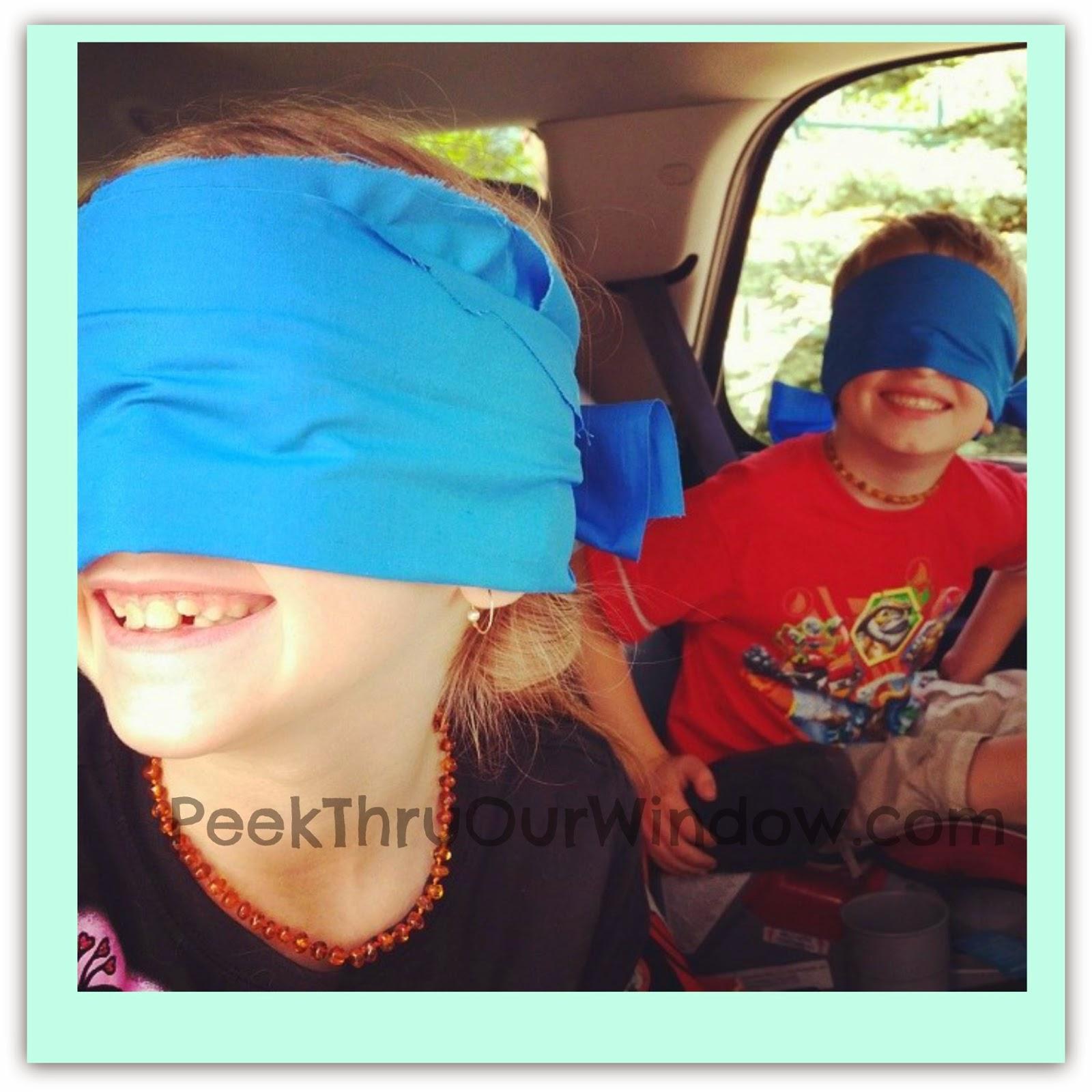 Blindfold surprise sharon | Sex fotos)